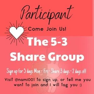 Join the 5-3 Share Group